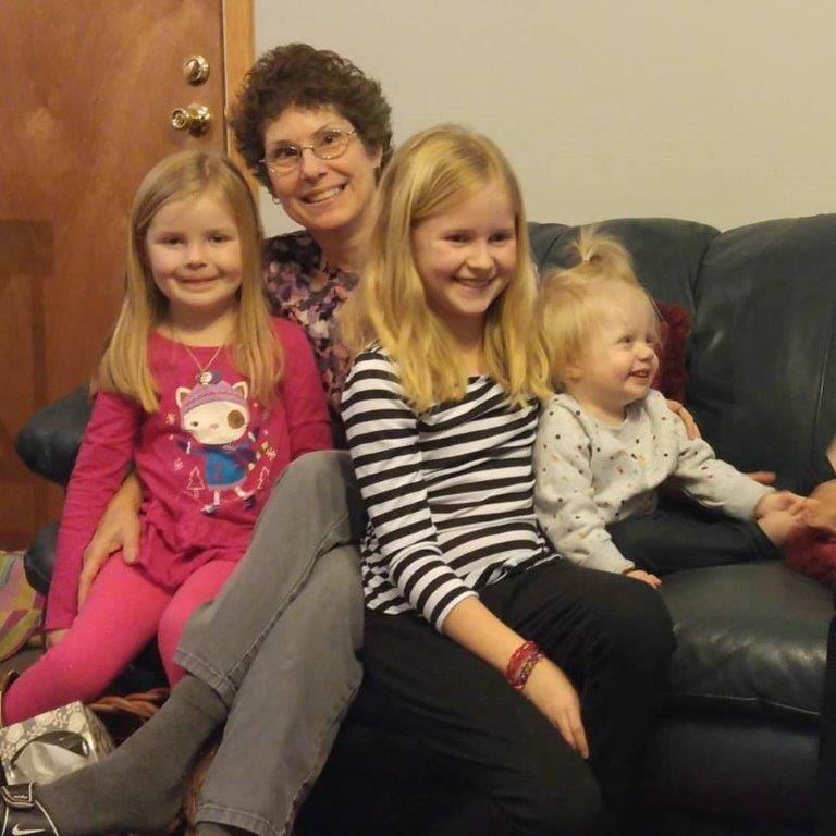 Grandma & her blonde babies