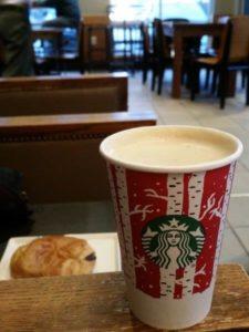 Starbucks birch cup